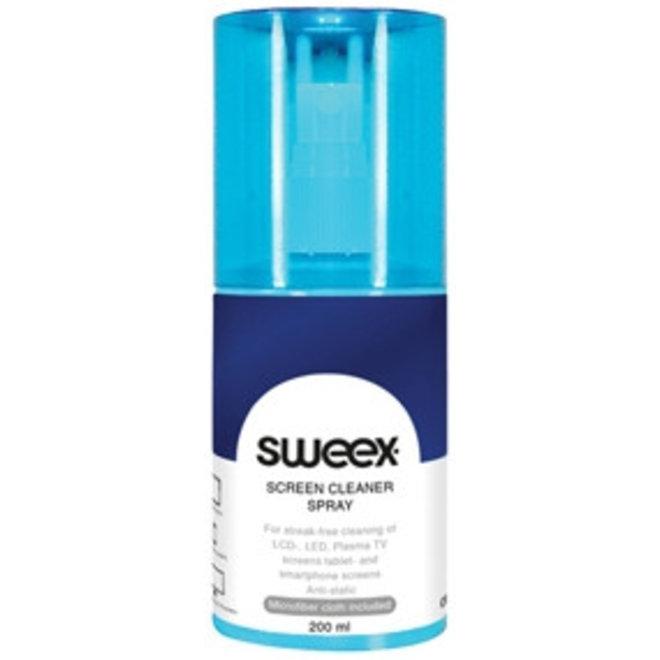 Sweex CS110 Schermreinigingsspray 200 ML - Light Blue