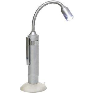 Mellert Mellert SLT318 PocketLite LED Lamp met Zuignap - Silver