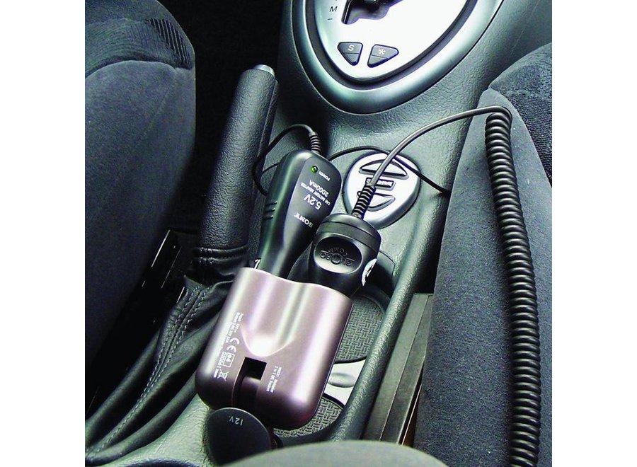 ProPlus 12V LED Car Sigaretten aansteker Verstelbaar Splitter 2-Weg