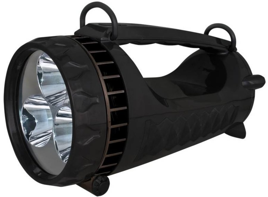 Osram Crosser 3 LED's XL Zaklamp Spotlight - Black