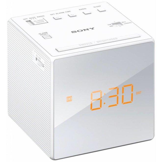Sony ICF-C1 W LED Wekkerradio - White