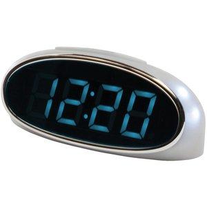 Balance Time Balance Time Blue LED Wekker - Silver