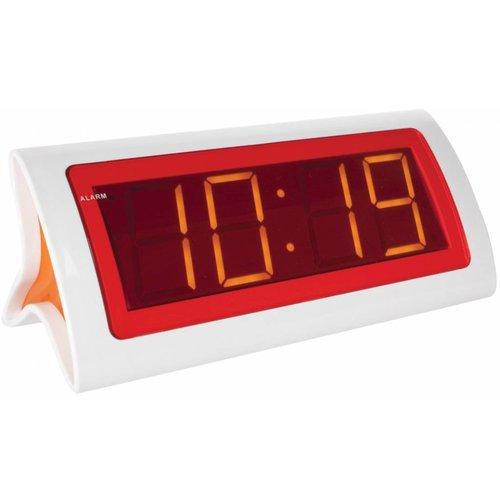 Balance Time Balance Time Orange LED Wekker - White