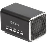 Konig Konig Portable LED Speaker MP3 - Black