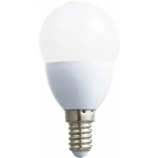 HQ E14 LED Lamp Mini-globe Dimbaar 5,5 W (32 W) - Warm White