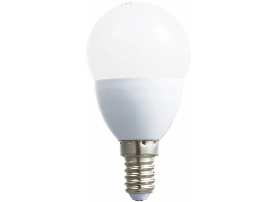 HQ E14 LED Lamp Mini-globe Dimbaar 5,5 W (32 W) - Warm White