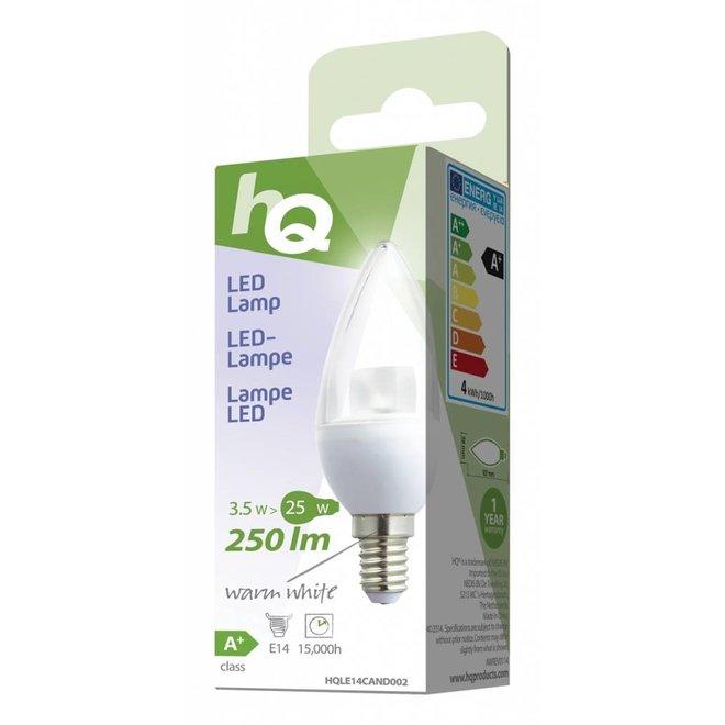 HQ E14 LED Lamp Kaars 3,5 W (25 W) - Warm White
