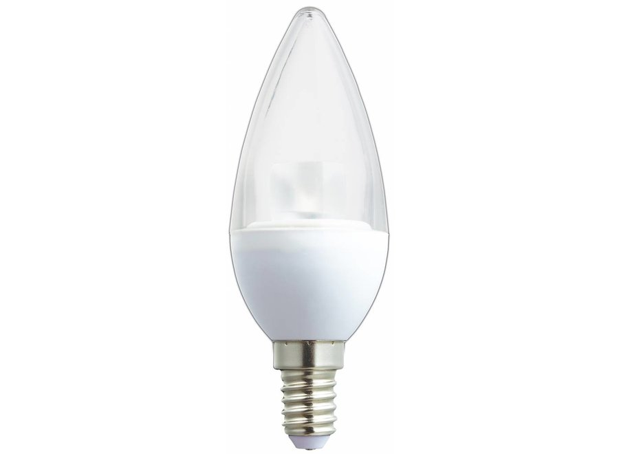 HQ E14 LED Lamp Kaars Dimbaar 5,5 W (32 W) - Warm White