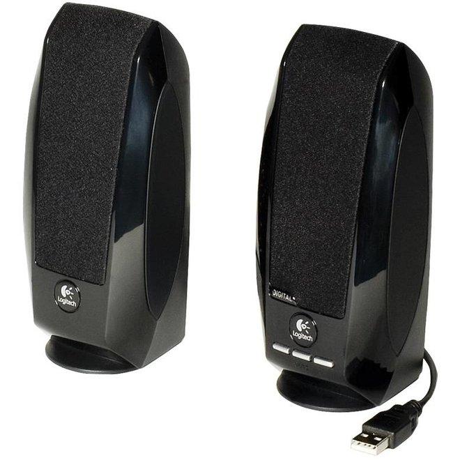 Logitech S150 Digital USB LED Speakersysteem - Black