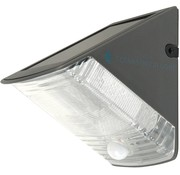 Ranex Ranex Olav Solar LED Muurlamp - Grey