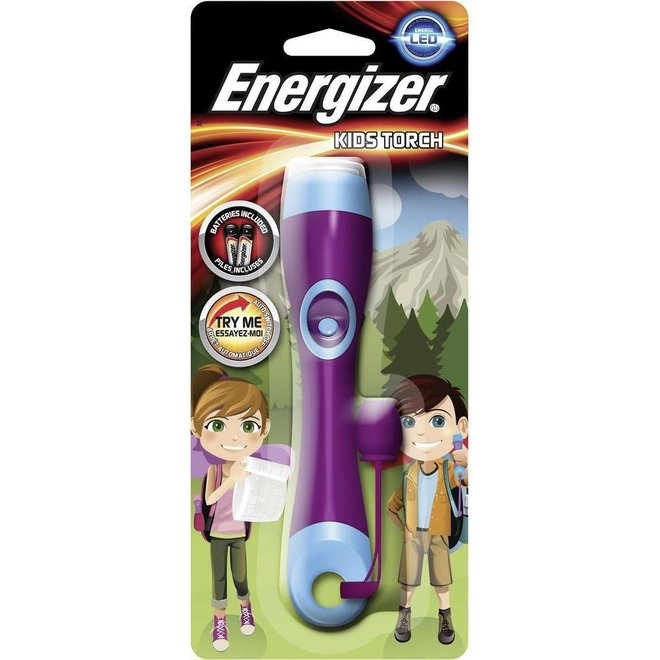 Energizer Kids Torch LED Zaklamp - Blue / Pink
