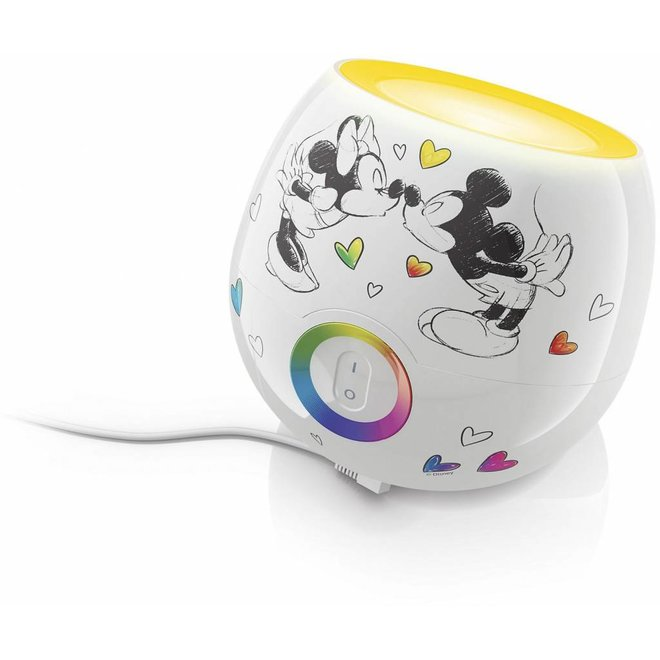 Philips Mickey & Minnie Mouse LED LivingColors Mini - White