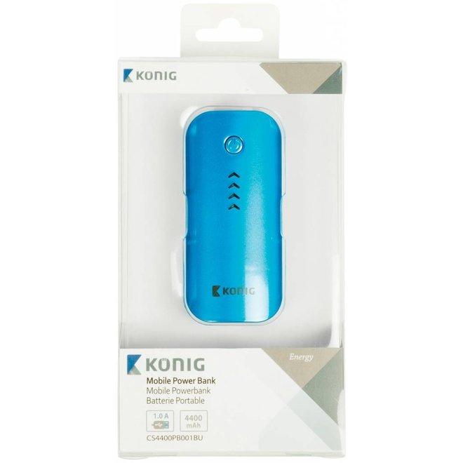 Konig LED Powerbank 4400 mAh - Blue