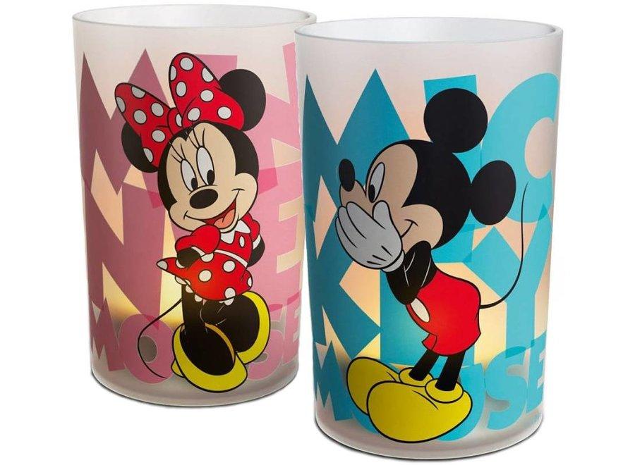 Philips Disney Mickey & Minnie Kaarsen