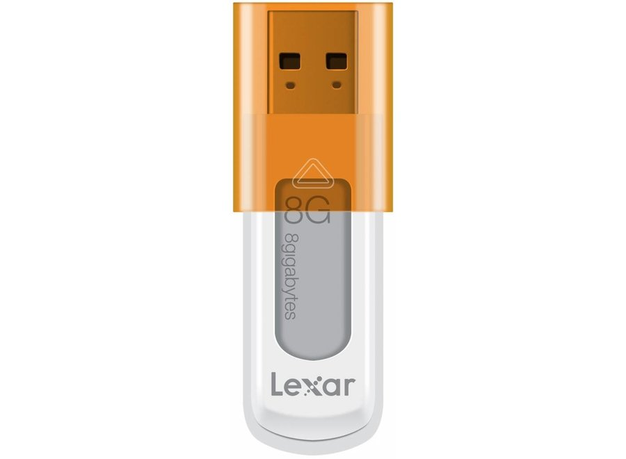 Lexar JumpDrive S50 8 GB LED Hi-Speed USB - Orange