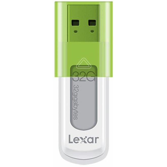 Lexar JumpDrive S50 32 GB LED Hi-Speed USB - Green