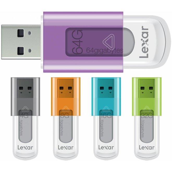 Lexar JumpDrive S50 64 GB LED Hi-Speed USB - Purple
