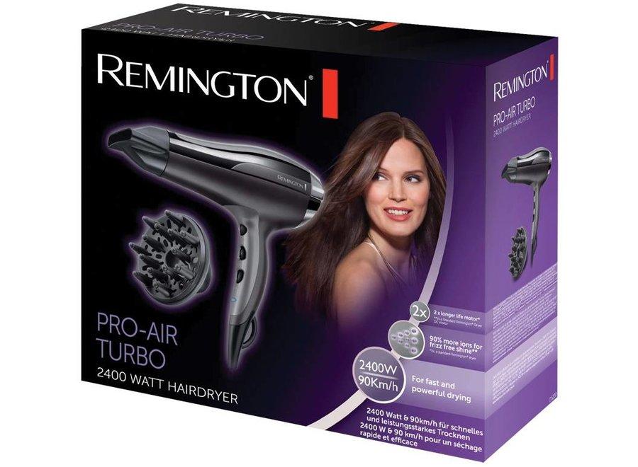 Remington Pro-Air Turbo D5220 LED Haardroger - Black