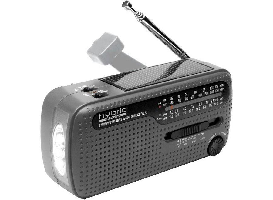 Muse MH-07 DS Hybrid World Band Radio - Grey