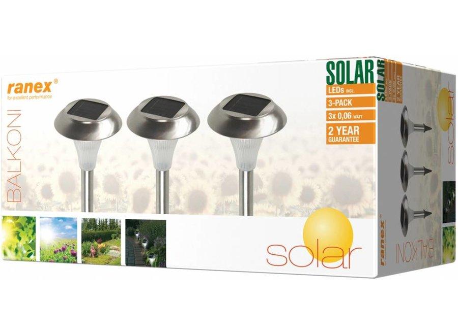Ranex Balkoni LED Solar Tuinlampen