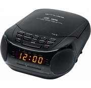 Muse Muse M-125 CRB Klokradio met CD / MP3-speler - Black