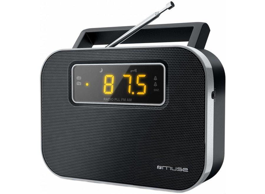 Muse M-081 R 2-band PLL Portable Radio - Black