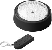 ProPlus ProPlus 5 LED's Druklamp met Afstandsbediening - Black