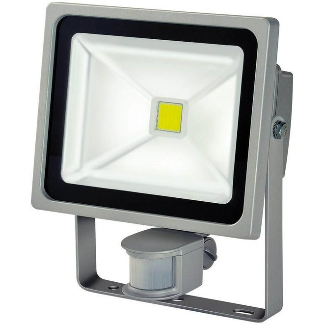 Brennenstuhl LCN 130 COB LED Lamp met Bewegingssensor 30 W - Grey