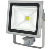 Brennenstuhl Brennenstuhl LCN 150 COB LED Lamp met Bewegingssensor 50 W - Grey