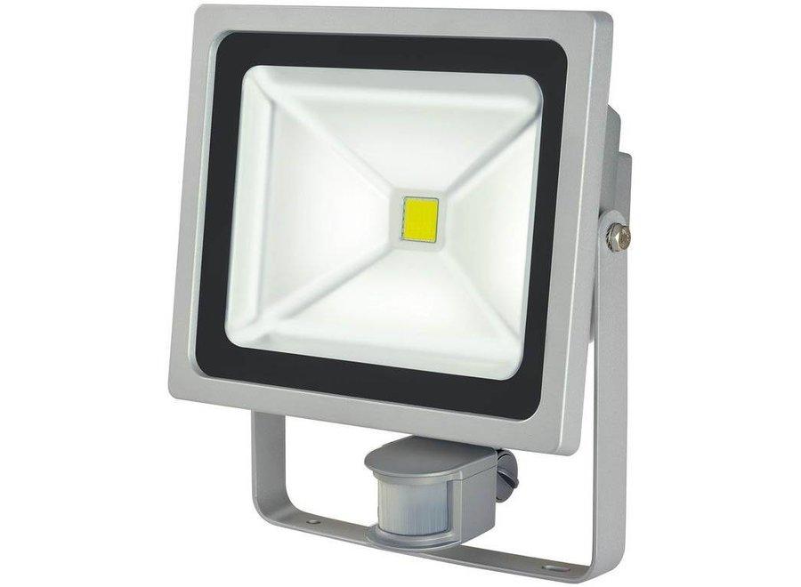 Brennenstuhl LCN 150 COB LED Lamp met Bewegingssensor 50 W - Grey