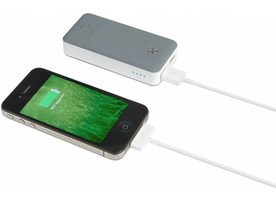 Xtorm LED Powerbank Go 4000 mAh - Antraciet