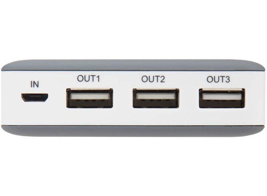Xtorm LED Powerbank Free 15000 mAh - Antraciet