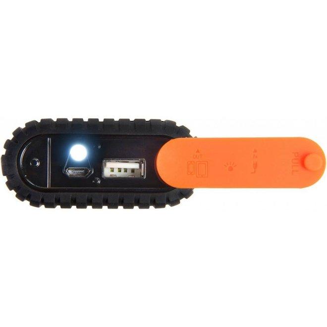 Xtorm LED Powerbank Waterproof Xtreme 9000 mAh - Black / Orange