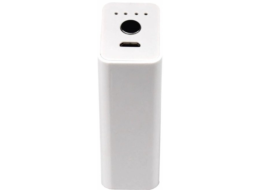 Xtorm LED Powerbank Pocket 2600 mAh - White
