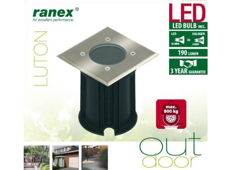 Ranex Luton LED Grondspot