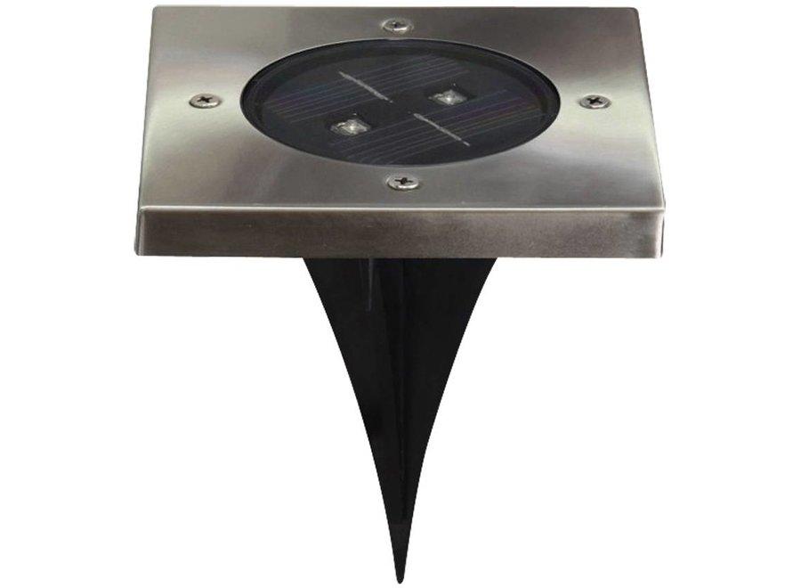 Ranex Torino LED Solar Grondspot - Vierkant