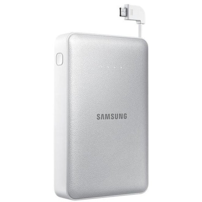 Samsung LED Universal External Battery Pack (11300 mAh) - Silver