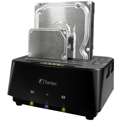 Fantec Fantec MR-Copy DU3 HDD USB 3.0 LED Docking Station - Black