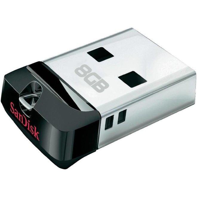 SanDisk LED USB-stick Cruzer Fit 8GB