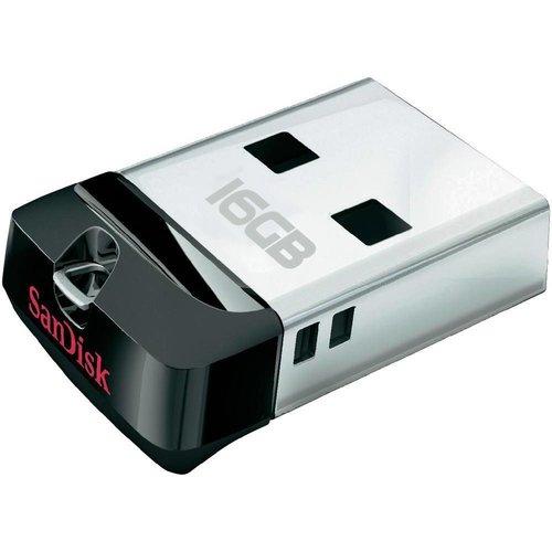 SanDisk SanDisk LED USB-stick Cruzer Fit 16GB