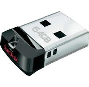 SanDisk SanDisk LED USB-stick Cruzer Fit 64GB