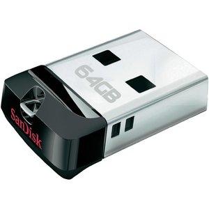 SanDisk SanDisk LED USB-stick Cruzer Fit 64GB