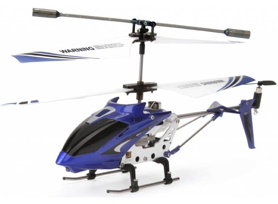 Syma S107G 3-Channel RC Mini LED Helicopter - Bauw
