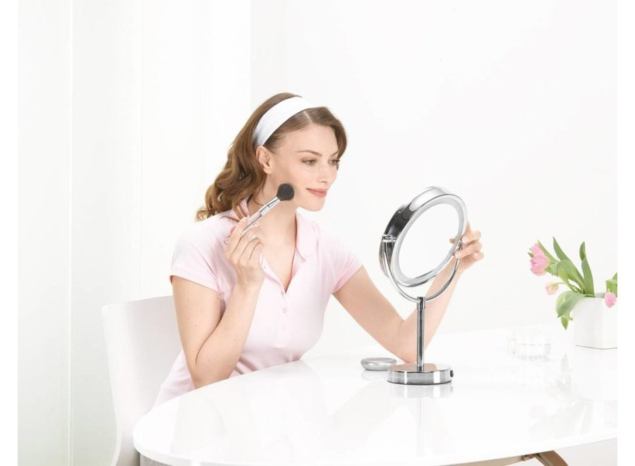 Beurer BS69 LED 2-in-1 Cosmetica Spiegel - Silver