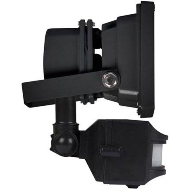 Perel LEDA3001CW-BP COB 6500K LED Lamp met Bewegingssensor 10 W - Black