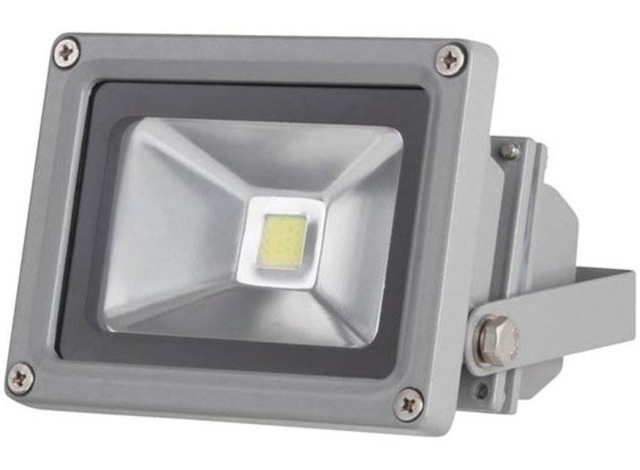 Perel LEDA3001CW-G COB 6500K LED Lamp 10 W - Grey