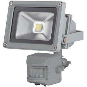 Perel Perel LEDA3001CW-GP COB 6500K LED Lamp met Bewegingssensor 10 W - Grey