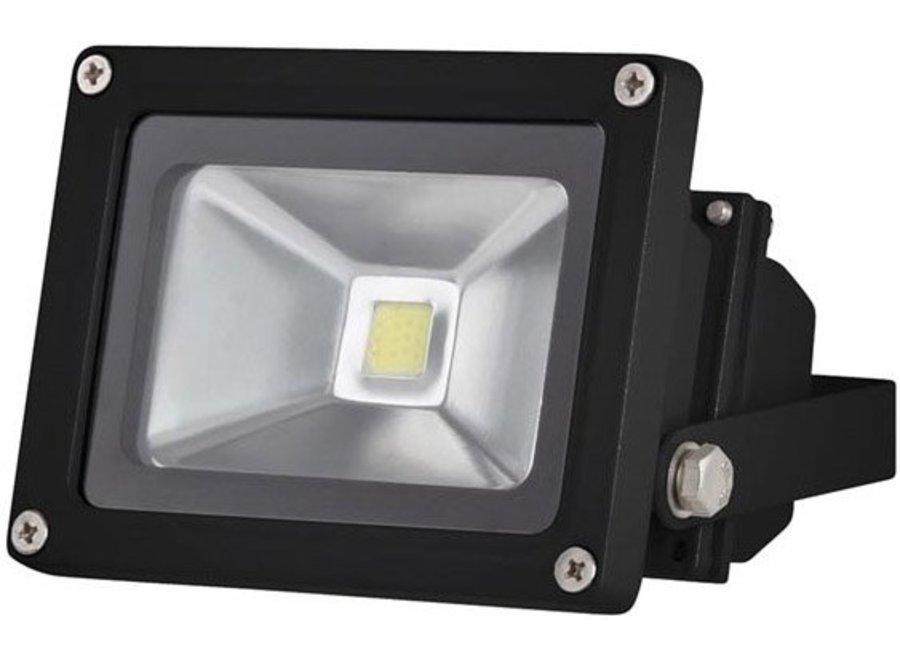 Perel LEDA3001WW-B COB LED 3800K Lamp 10 W - Black