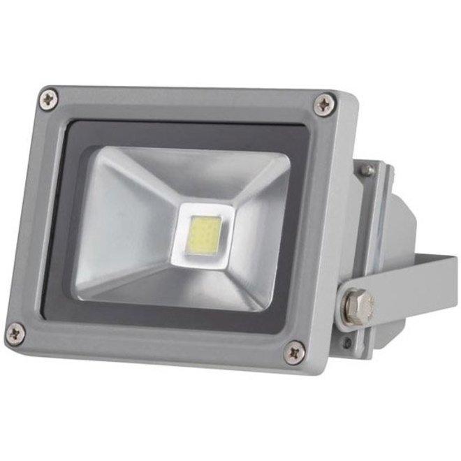 Perel LEDA3001WW-G COB 3800K LED Lamp 10 W - Grey