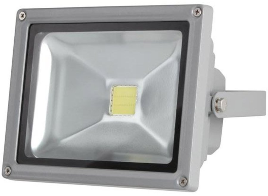 Perel LEDA3002CW-G COB 6500K LED Lamp 20 W - Grey